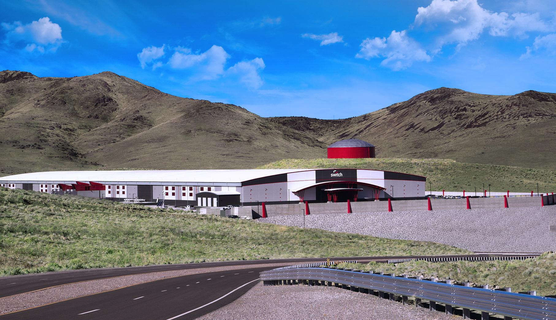 Switch TAHOE RENO 1 Data Center colocation facility; largest in the world
